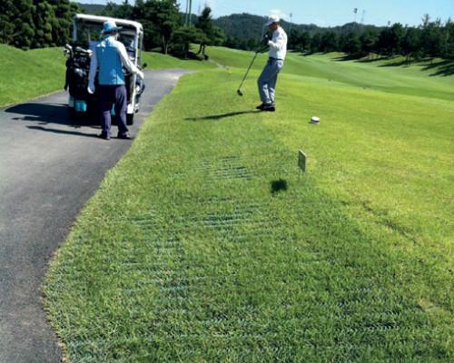 Græsarmering_Golf_Jordarmering.dk