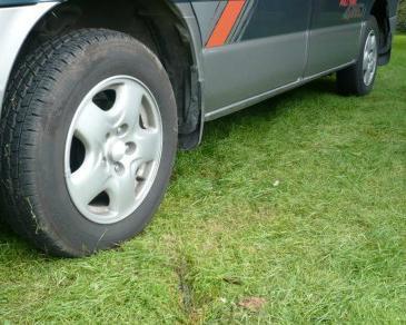 Armeret græsplæne