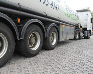 Lastbil på TDJ Truckflise
