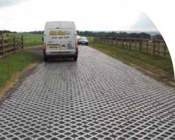 Parkeringsplads til lastbiler