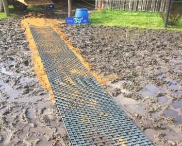 TDJ heavymat - effektiv mod mudder og pløre