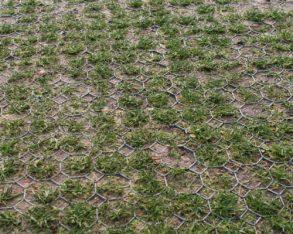 TDJ Græsfliser tåler høj belastning eks på parkeringspladsen